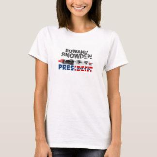 Edward Snowden för president i 2016 T Shirt