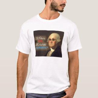 Edward Snowden - George Washington SonWhte skjorta T Shirt