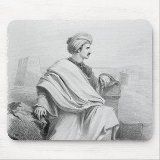 """Edward William Lane som """"en arabisk beduin"""", 1828 Musmatta"""