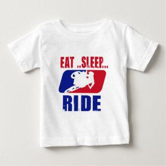 Eeat sömn och ritt t shirts