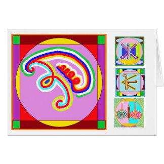 EEYAWA - Karuna Reiki av Navin Joshi Hälsningskort