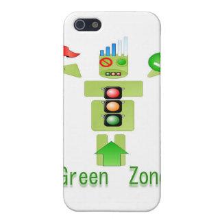 Effektiv GRÖN zon energi endast iPhone 5 Cases
