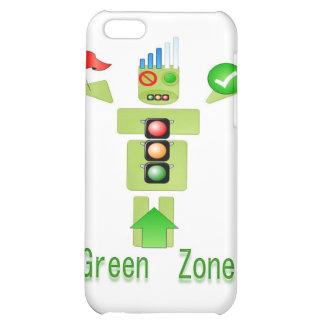 Effektiv GRÖN zon energi endast iPhone 5C Fodral