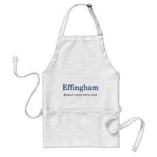 Effingham standart förkläde