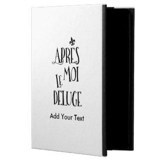 Efter mig floden - franskt uttryck powis iPad air 2 skal