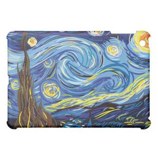 Efter post impressionism Van Gogh för Starry natt iPad Mini Skydd