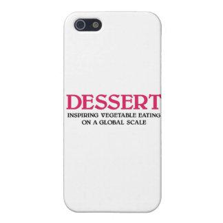 Efterrätt och grönsaker (den rosa upplagan) iPhone 5 cases