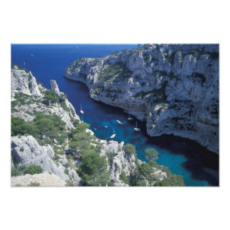 EG frankrike, Provence, franska Riviera kusten, 2 Fototryck