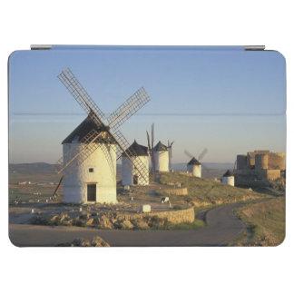 EG Spanien, La Mancha, Consuegra. Windmills och iPad Air Skydd