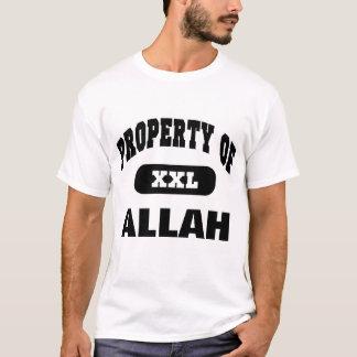 Egendom av ALLAH T-shirts