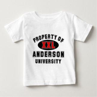 Egendom av anderssonuniversiteten tröja