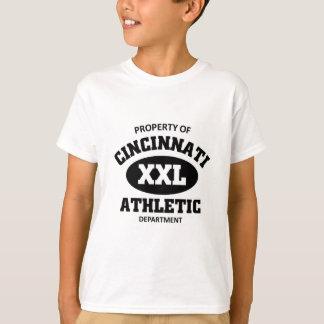 Egendom av Cincinnati den idrotts- avdelningen Tshirts