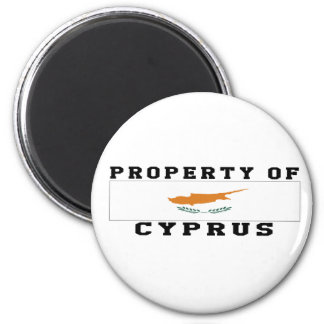 Egendom av Cypern Magnet