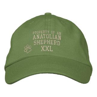 Egendom av den Anatolian herde broderade hatten Broderad Keps