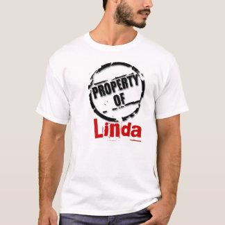 Egendom av den Linda T-tröja Tröjor