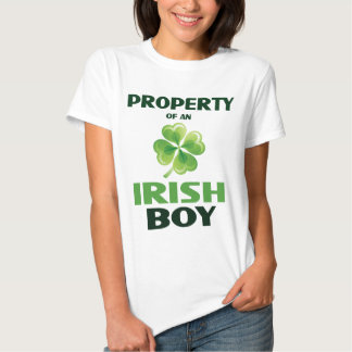 Egendom av en baby Dol för irländarepojkedamer Tröja