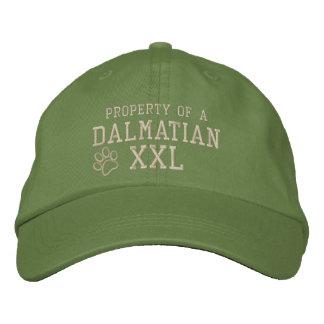 Egendom av en Dalmatian Broderad Keps