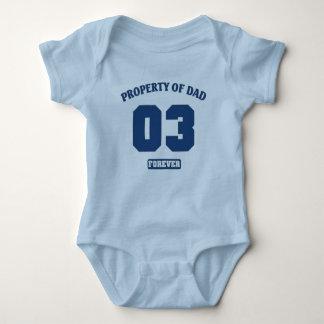 Egendom av för evigt för pappa o3 t-shirt