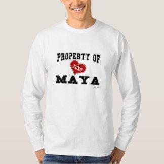 Egendom av Maya T Shirts