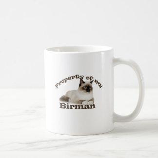 Egendom av min Birman Kaffemugg
