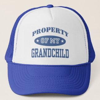 Egendom av mitt barnbarn truckerkeps
