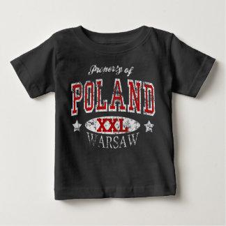 Egendom av Polen Warsaw Tee Shirts