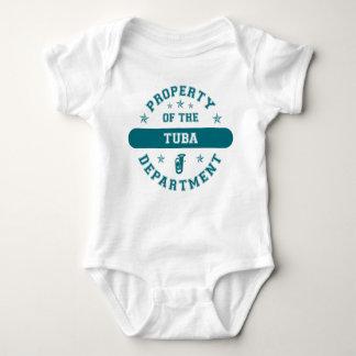 Egendom av Tubaavdelningen T-shirt