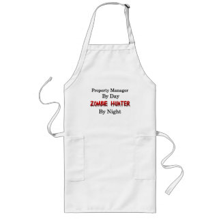 Egendomchef/Zombiejägare Långt Förkläde