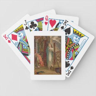 Egendomrummet, 1879 (olja på kanfas) spel kort