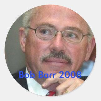 Egennamn Barr 2008 Runt Klistermärke