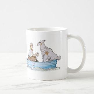 Egennamn och hans Llama: Det Fleecy Kaffemugg
