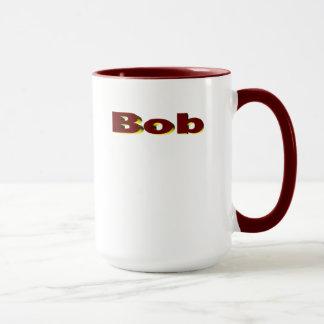 EgennamnRingermugg för kaffe Mugg