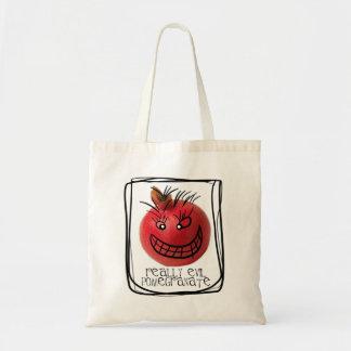 Egentligen ond pomegranate tygkasse