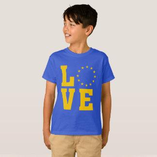 EGflagga, Europeiska union, KÄRLEK Tee