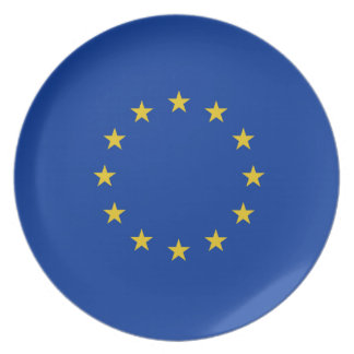 EGflagga Tallrik