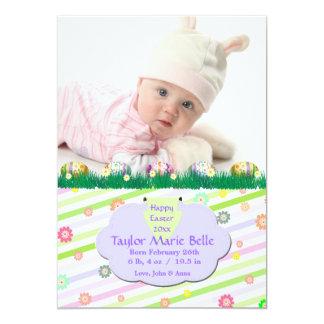 Eggstra speciellt fotokort 12,7 x 17,8 cm inbjudningskort