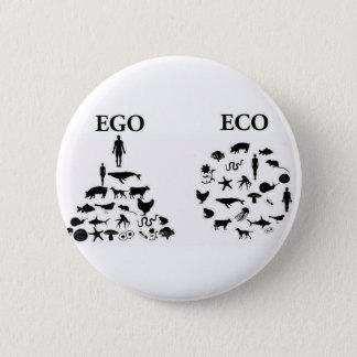 Egoen vs. Eco klämmer fast Standard Knapp Rund 5.7 Cm