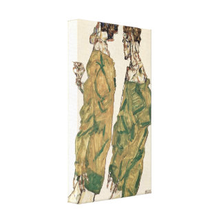 Egon Schiele - fromhet Canvastryck