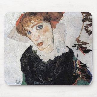 "Egon Schiele , "" Portrait of Wally "" Musmatta"