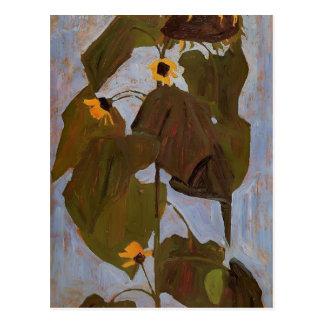 Egon Schiele- solros Vykort