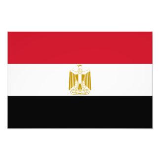 Egypten - egyptisk flagga konstfoto