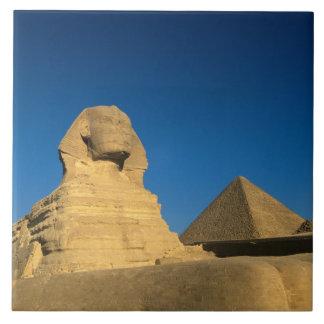 Egypten Giza, sphinxen, gammalt kungarike, Unesco Kakelplatta