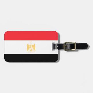 Egyptenflagga Bagagebricka