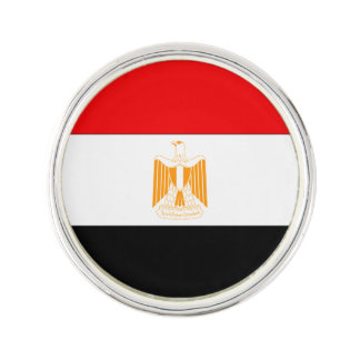 Egyptenflagga Kavajnål
