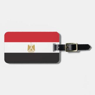Egyptenslättflagga Bagagebricka