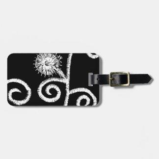 Egyptisk blom- design bagagebricka