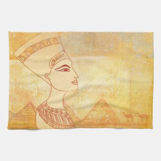 Egyptisk drottning Cleopatra TeaTowels Kökshandduk