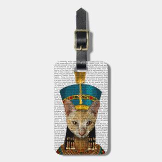 Egyptisk drottningkatt bagagebricka