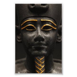 Egyptisk staty av Osiris Fototryck