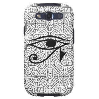 Egyptisk Vibe för öga- & mönsterSamsung galax S3 Galaxy SIII Cases